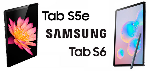 Samsung Galaxy Tab S5e vs S6